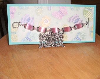Pretty in Shimmery Pink Bracelet