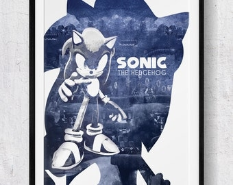 Sonic The Hedgehog: Sonic The Hedgehog print/poster