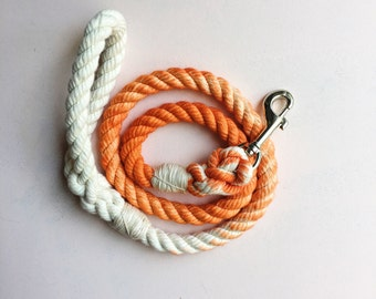 6 Ft Orange Ombre Leash