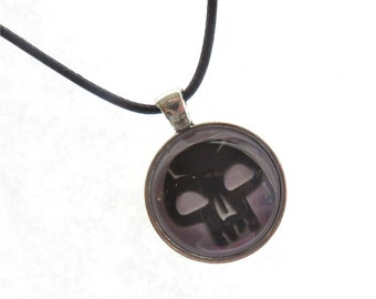 Magic the Gathering Black Mana Necklace