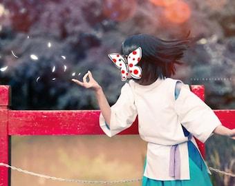 Haku costume -Anime Spirited away cosplay