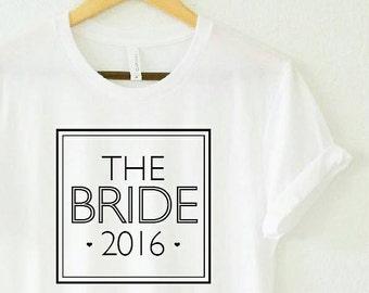 THE BRIDE, Bridal Tee, Bride Tee, Bridal Tank, Wedding Tee, Bride Shirt