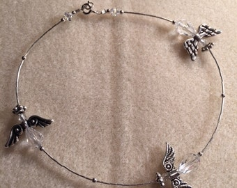Hand made Angels. Everyone needs an angel with them.  See how your karma changes with these anklets or bracelets