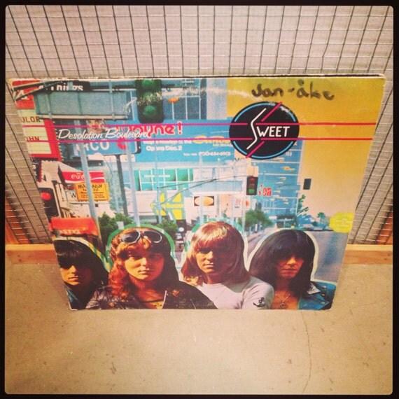Sweet - Desolation Boulevard vinyl