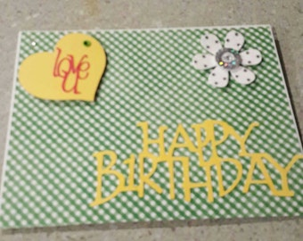 Happy Birthday card. Can be personalized