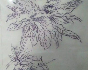 Chinese embroidery:Peony