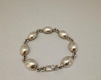 Mexican .925 Sterling Silver Bracelet
