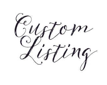 Just For You! Custom Spot <3