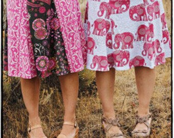 Valori Wells Sewing Pattern - Isabelle Skirt, Girlfriends