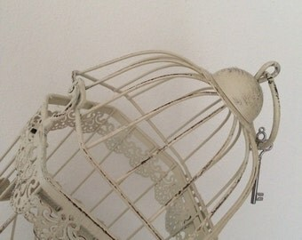 Ornamental cage shabby chic style