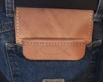 Custom leather hip pocket quiver