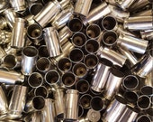 40 SW Once Fired Nickel Plated Brass 350 + Pieces. This brass is great for reloading, jewelry making and other crafts.
