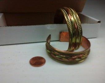 two Tibetan style bracelets