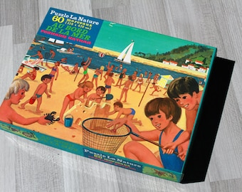 Puzzle - by the sea - Nature Puzzle vintage (1978)