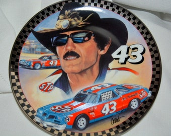 Franklin Mint Richard Petty 0l' 43  Limited Edition Plate HA1579
