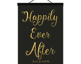 Happily Ever After // customised print