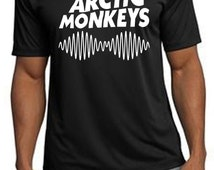 Arctic Monkeys Black band logo T-shirt
