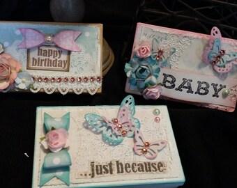 plastic box for embellishing