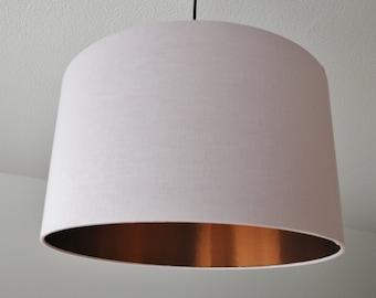 """Lampshade """"Rosé-copper"""""""