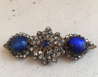 Beautiful Vintage Miriam Haskell Brooch Pin~perfect!