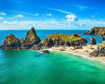 Kyance Cove, Cornwall, England Photography, Beach Photography, landscape photography, ocean photography