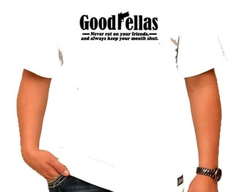 Goodfellas Mens White T-Shirt