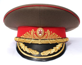 USSR Military visor hat Field Marshal of Soviet Army