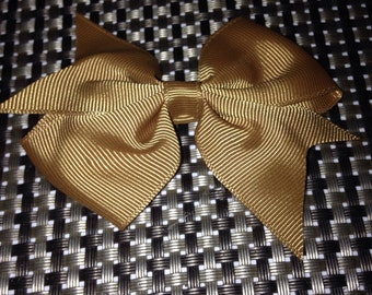 Brown Bow Clip