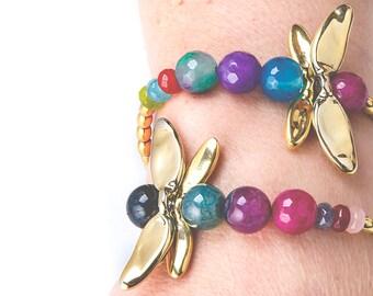 Bracelets libellule