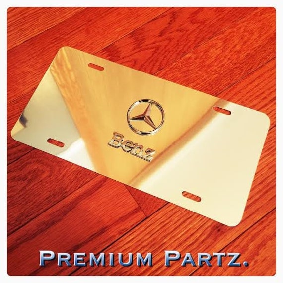 Mercedes benz logo license plate 3d new by customplatedesigns for Mercedes benz license plate logo