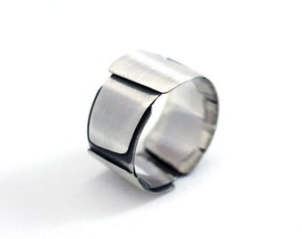 Ring Silver Matte AIP