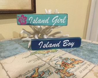 Island Girl/ Island Boy small sign