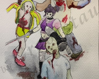 Zombicide (Draw For Initiative)