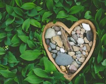 Heart Rock Garden