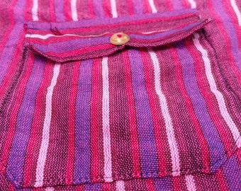 Pink Hippie Artisan Ecuadorian Chef Pants