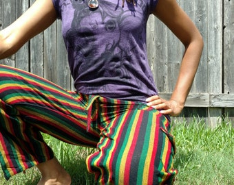 Rasta hippie pants