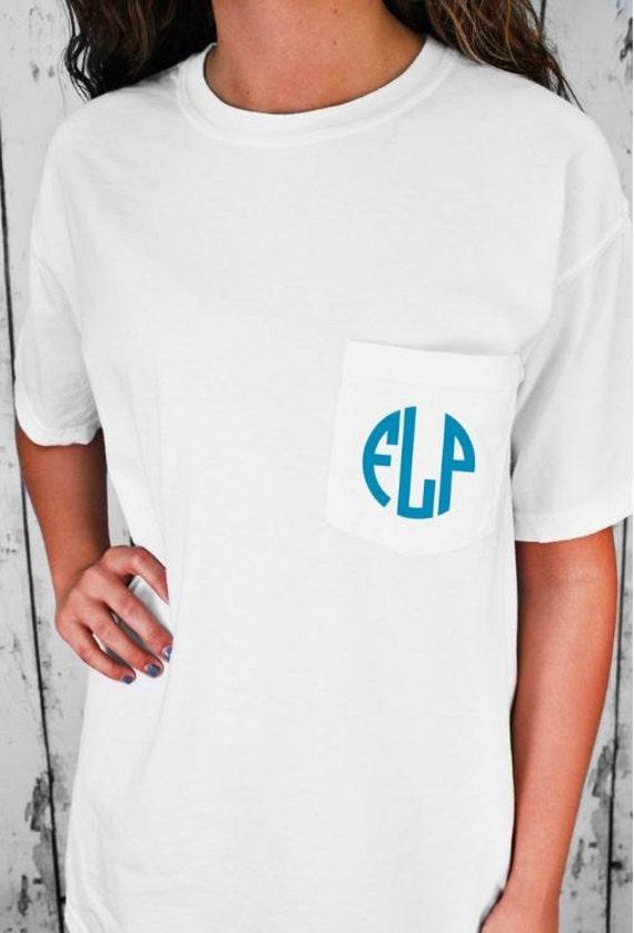 Monogrammed Cotton Tee - UnisexFit T-Shirt