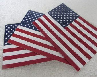 Flag postcards - USA