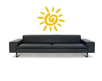 Sun vinyl Wall Art sticker decal graphics decor home
