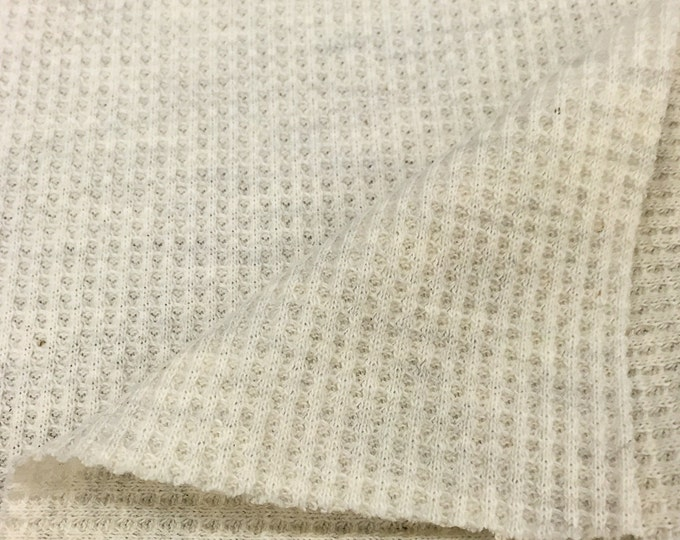 Thermal Fabric (Wholesale Price Available By the Bolt) USA Made Premium Quality- 7319CH1 Oatmeal - 1 Yard