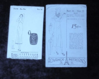 patterns 2  vintage slip & dress
