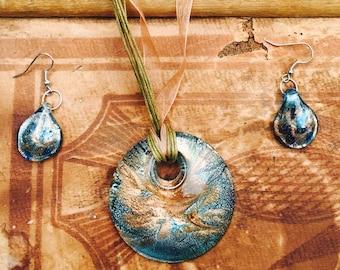 Funky Necklace/Earring Set