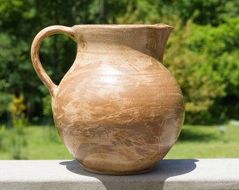 Large Brown Pitcher
