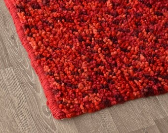 Wool rug - Firebed