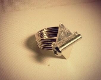 DareByKionde #SpikedAndScrewed collection ring