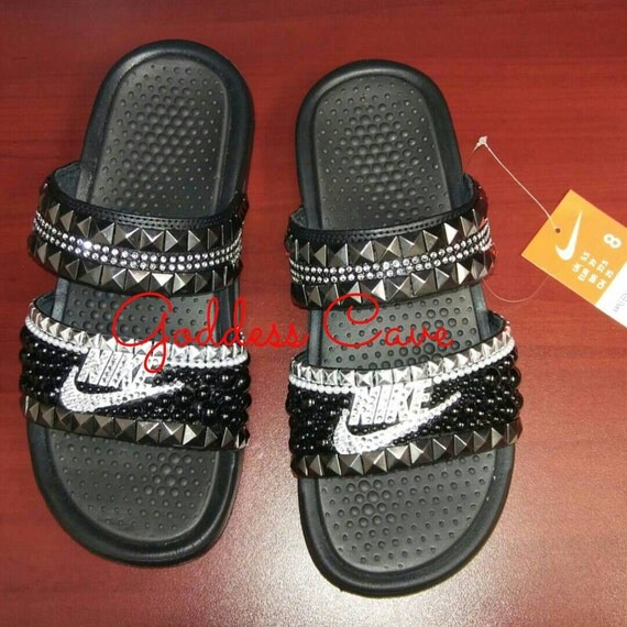 Rock Star Dual Nike Slide size 6-12