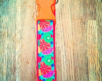 Tootie fruity - Delightful Ditsy bold Dog collar