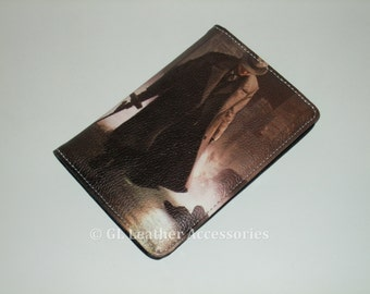 High Quality Faux Leather Passport Holder Case (Gangster)