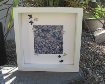 "Butterly picture ""Polly"", 3D framed"