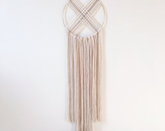 Macrame Wall Hanging / Modern Macrame / Tapestry / Midsummer Night's Dream